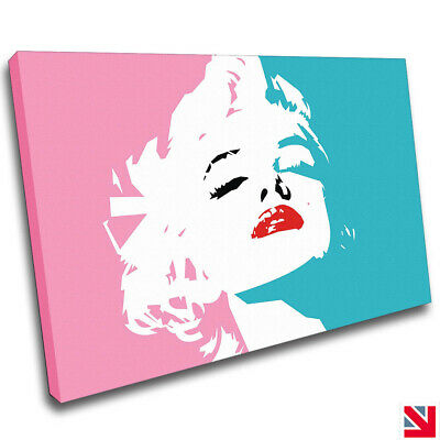 £46.99 • Buy Marilyn Monroe CANVAS Wall Art Picture Print