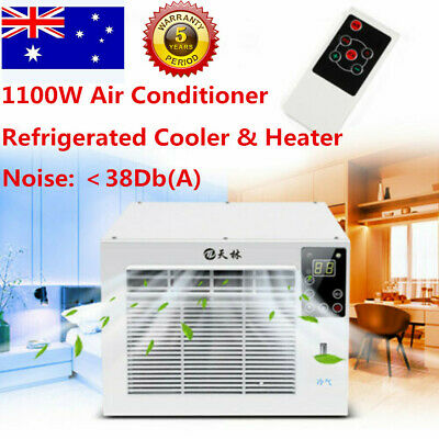 AU297.03 • Buy 1100W WINDOW WALL BOX REVERSE CYCLE REFRIGERATED AIR CONDITIONER Cooler Warmer
