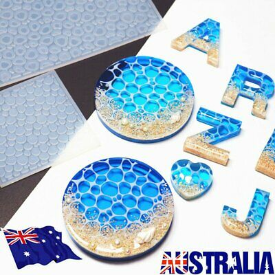 AU12.39 • Buy DIY Crafts Water Ripple Ocean Crystal Mold UV Epoxy Silicone Mould Resin Mold S4