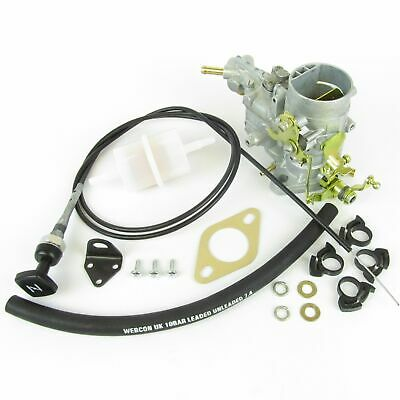 AU401.34 • Buy Weber 34 Ich Carburettor Upgrade Kit Saab 95/96 V4 1498cc Ford Taunus Engine