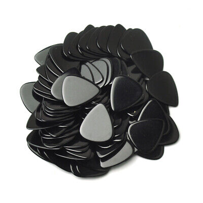 $ CDN12.40 • Buy 50pcs Heavy 1.5mm Guitar Picks Plectrums Celluloid Solid Black F Electric Guitar