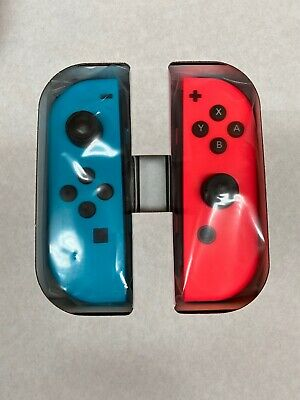 $79.99 • Buy Nintendo Switch Joy-Con Neon Red/Neon Blue Joycons Controllers Right Red Left