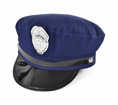 £4.95 • Buy New York Cop Hat American NYC Police Blue Chief Fancy Dress Costume