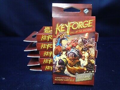 $ CDN33.08 • Buy Keyforge Call Of The Archons Sealed Deck Lot Of 6