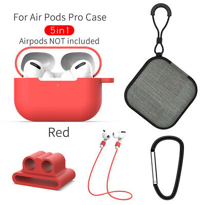 AU7.26 • Buy Strap Holder & Silicone Case Cover For Apple AirPods Pro Accessories Kits
