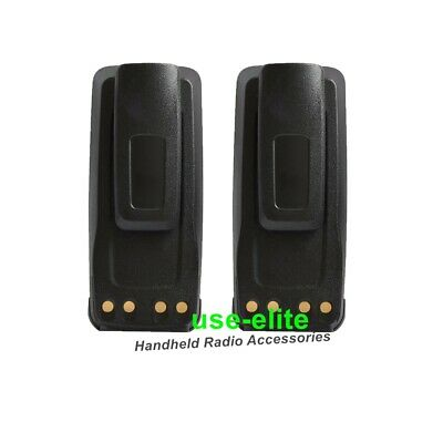 $39.90 • Buy 2X PMNN4077 Battery For MOTOROLA XPR6350 XPR6380 XPR6550 XPR6580 XPR6300 Radio