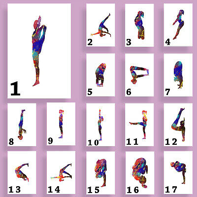 Pole Dancer, Print, Poster, Gift, Wall Art, Dance, Gifts, Gym, Exercise • 3.50£