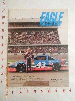 $9.99 • Buy Spring 1992 Richard Petty Rare Cover With Nascar 43 Race Car Eagle GoodYear Tire