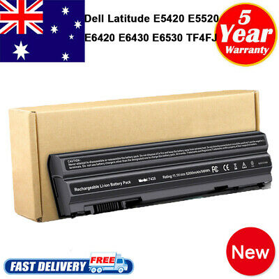 AU36.99 • Buy Battery For DELL Latitude E5420 E5430 E5520 E5530 E6420 E6520 NHXVW M5Y0X PC