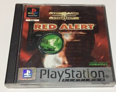 AU35 • Buy Command And Conquer Red Alert Sony Playstation Discs Scratched But Working
