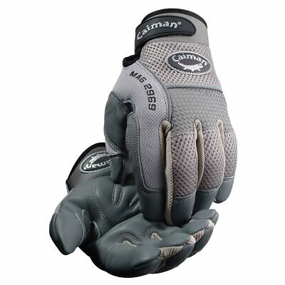 Sheep Grain Padded Palm Knuckle Protection Mechanics Gloves • 15.27£