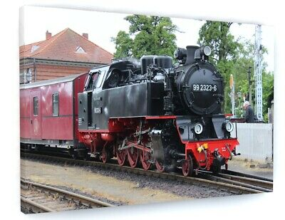 £39.99 • Buy Steam Train Canvas Picture Print Wall Art D607