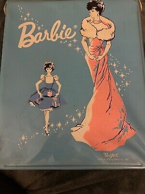 $ CDN33.94 • Buy Vintage  Barbie 1962 BLUE Ponytail Doll Case Single Enchanted Evening