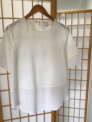 AU9.25 • Buy Witchery White Blouse Top - Size 10