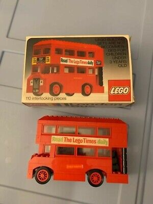 $ CDN63.80 • Buy LEGO Vintage London Double Decker Bus Set #760 1974 In Box   #A32