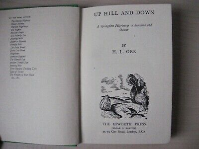Up Hill And Down By H. L. Gee - Vintage 1946 HB Book • 4.99£