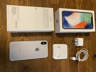 AU520 • Buy Apple IPhone X - 256GB - Silver (Unlocked) A1865 (CDMA + GSM) (AU Stock)