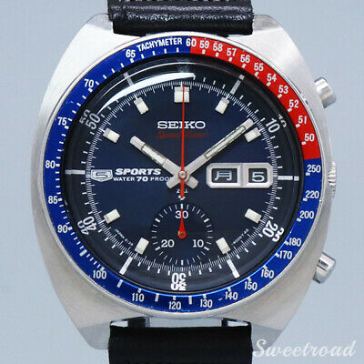 $ CDN2767.17 • Buy Seiko Speed Timer 6139-6000 Vintage Automatic Mens Watch Authentic Working
