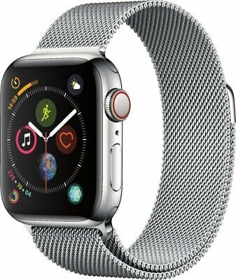 $ CDN1226.24 • Buy Apple Watch Series 4 (GPS+Cellular) 40mm Stainless Steel | Brand New |