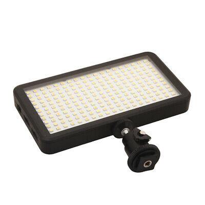 228 LED Video Light Lamp Panel Dimmable For DSLR Camera DV Camcorder • 20.15£