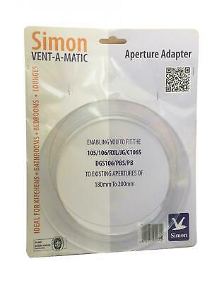 Simon Vent-A-Matic Aperture Adaptor Up To 200mm • 13.99£
