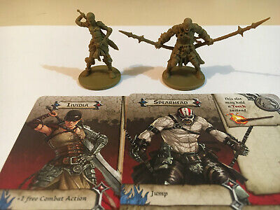 AU19.95 • Buy Zombicide Green Horde KS Horde Box Characters Lividia And Spearhead.