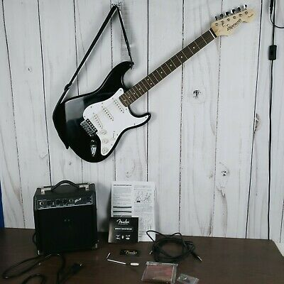 $148 • Buy Fender Starcaster Strat Electric Guitar With Fender SP.10 Amp - Hardly Used.