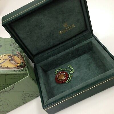 $ CDN251.53 • Buy Vintage Rolex Green Watch Box W/Outer Box & Tag Swiss Made 12.00.71 NO Pillow