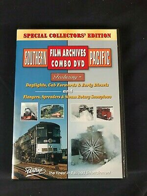 $16.40 • Buy Southern Pacific Film Archives Combo DVD