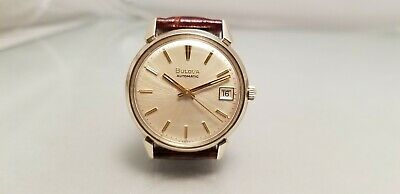 $ CDN149.99 • Buy BULOVA VINTAGE GENTS  AUTOMATIC 10K Rolled Gold Plated 1972 DATE CODE N2