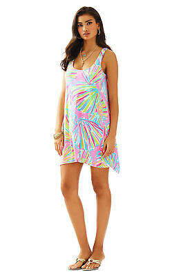 $29.90 • Buy NEW Lilly Pulitzer - Monterey Dress - Shellabrate Pink Pout  - Large