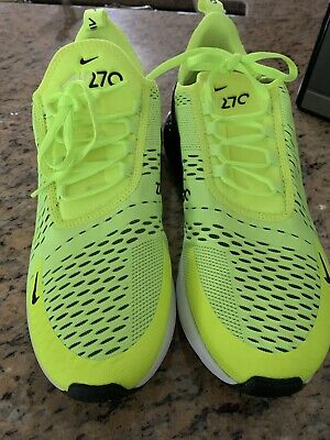 $69.99 • Buy Nike AH8050 Air Max 270 Men's Shoes - Size 10.5 Yellow And Black