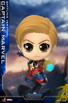 $ CDN35.17 • Buy Hot Toys Cosbaby COSB663 Captain Marvel Battling Ver. Avengers Endgame Figure