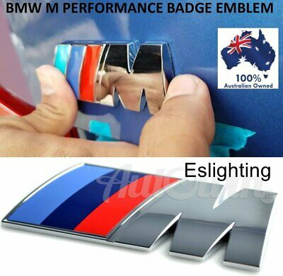 AU8.95 • Buy 1x M Sport Replacement Logo Badge Sticker Bmw Boot Trunk M1 M2 M3 M4 M5 M6 X