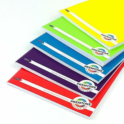 £5.39 • Buy 5 X A5 Notebooks Set Homework School Children Jotter Lined Page Value Pack Notes