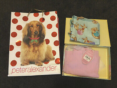 AU39.95 • Buy NEW WITH TAGS PETER ALEXANDER WOMENS SAUSAGE DOG SET M - Unwanted Xmas Gift $80