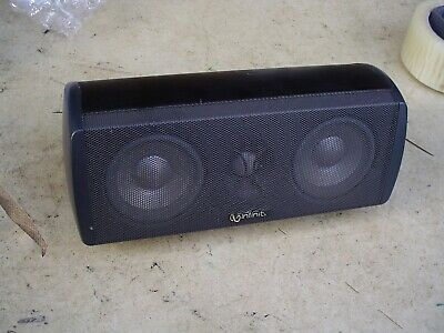 $20 • Buy Infinity Total Solutions Center 750 Small & Smooth Center Channel Speaker Black