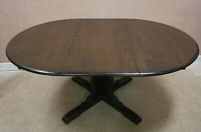 Ercol Extendable Dining Table In Dark Wood • 350£