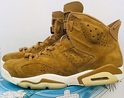 $120 • Buy Nike Air Jordan Retro 6 Wheat Golden Harvest 384664-705 Size 11 Bred Six Concord