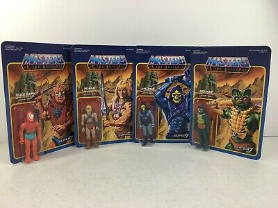 $124.95 • Buy Masters Of The Universe Reaction Wave 1 First Release Super 7