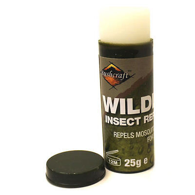 Bushcraft Wildlife Insect Repellent Mosquitos Midges 25g Stick Holiday  • 3.95£