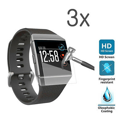 $ CDN5.53 • Buy CW_ ITS- 3Pcs Anti-Scratch Tempered Glass Screen Protector For Fitbit Ionic Watc