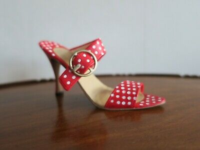 Collectables - Just The Right Shoe By Raine - Cherry - Item 25360 • 5£