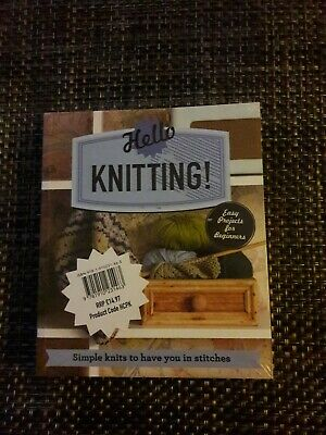 Hello Set Of 3 Craft Books - Knitting, Sewing And Crochet  • 6£