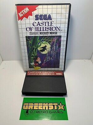 AU29.99 • Buy Castle Of Illusion Starring Mickey Mouse Sega Master System 🇦🇺 Seller