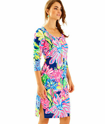 $29.90 • Buy NEW Lilly Pulitzer -Kenzie Dress Travelers Palm Reduced - S