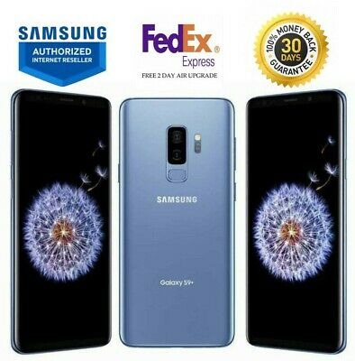 $ CDN353.35 • Buy Samsung Galaxy S9+ Plus Sm-g965u Coral Blue 64gb Verizon Unlocked T-mobile At&t