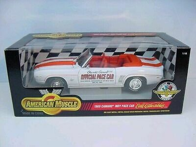 $69.95 • Buy Ertl 1/18 1969 Chevrolet Camaro Indy Pace Car New Mint