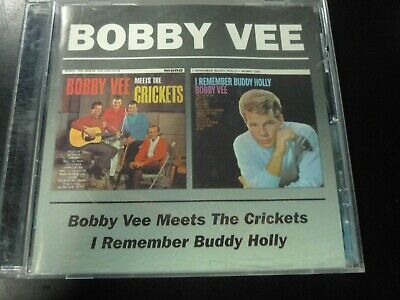 $12.99 • Buy Bobby Vee - Meets The Crickets/I Remember Cd 2 LPs On 1 Cd