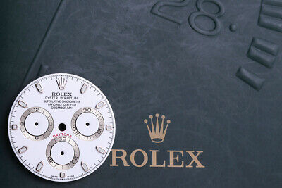 $ CDN2180.39 • Buy Rolex White Daytona Dial For Model 116520 APH  Error Dial  FCD9874